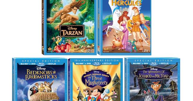 Inspired By Savannah Disney Classics Coming To Blu Ray 8