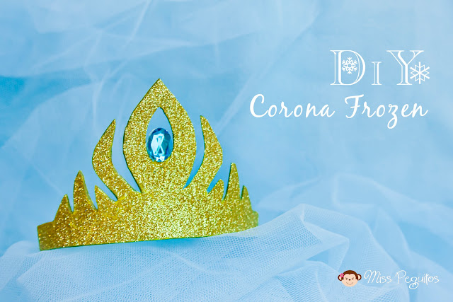 diy corona elsa frozen crown