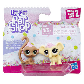 Littlest Pet Shop Series 2 Mini Pack Macaron Elephen (#2-5) Pet