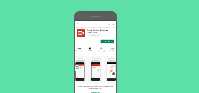 Aplikasi Perekam Layar Android Terbaik 2019