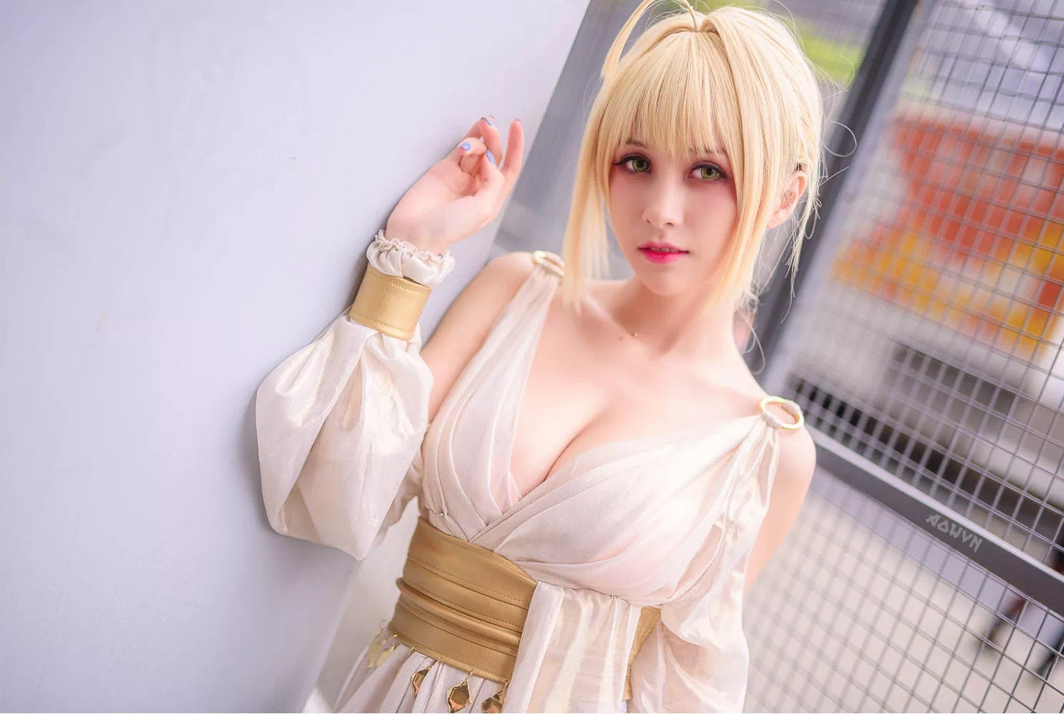 AowVN.org minz%2B%252826%2529 - [ Cosplay ] Nero - Saber anime Fate by Xia Mei Jiang tuyệt đẹp | AowVN Wallpapers