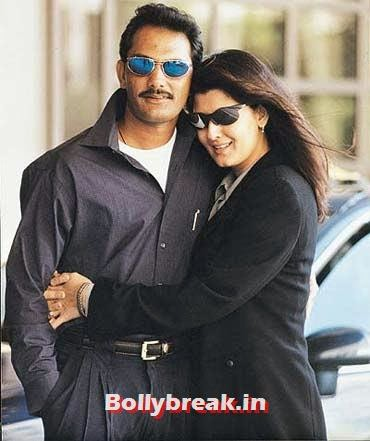 Mohammad Azharuddin and Sangeeta Bijlani, List of Sports star break-ups Pictures - Cricket, Tennis, Golf, Basketball