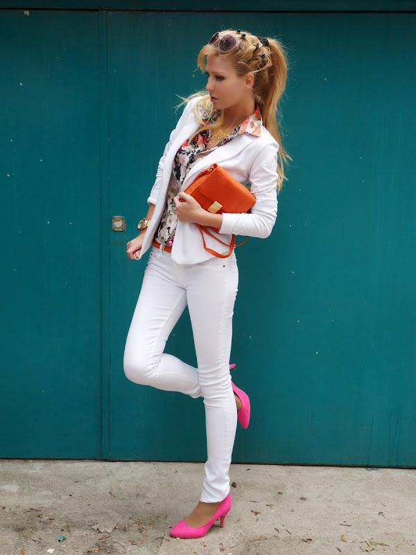 Zara Pure White Shoes