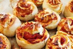 Pepperoni Pizza Rolls Recipe