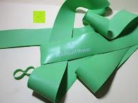 Band grün: 5er Set: Flossband»Herculexx«, Kompressions- und Widerstandsband zur Stärkung der Muskeln und Gelenke, in verschiedenen Stärken