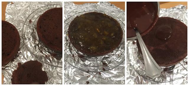 Preparación-de-tarta-Sacher-para-el-relleno-de-mermelada