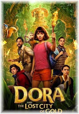 Dora and the Lost City of Gold 2019 HDRip 300MB ESub Poster