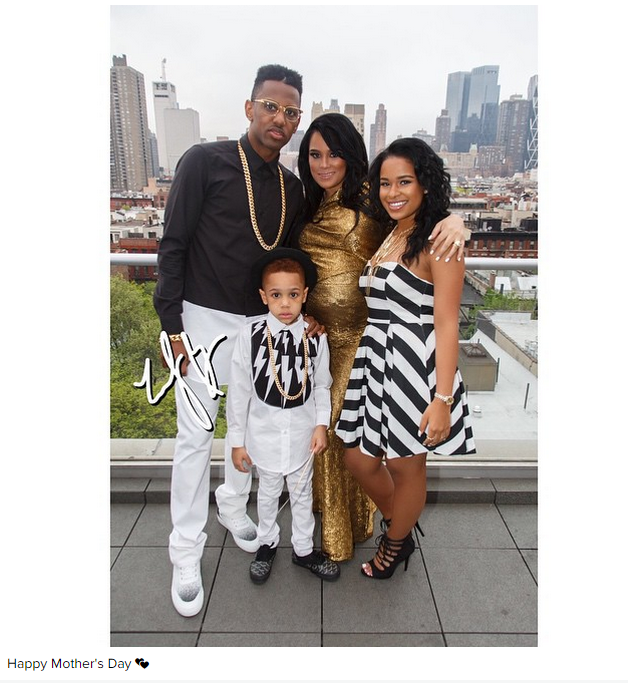 Hip Hop Celebrities Celebrate Mother's Day On Instagram (PHOTOS)