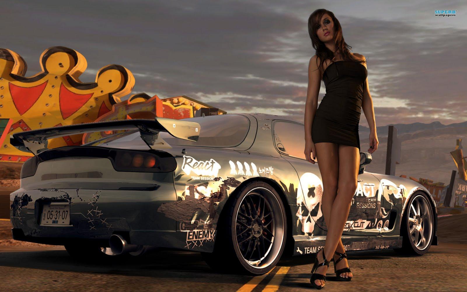 mulheres e carros carros e mulheres