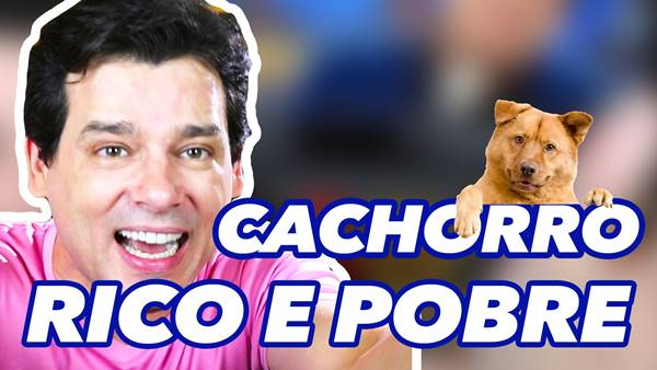 CACHORRO DE RICO E CACHORRO DE POBRE Celso Portiolli