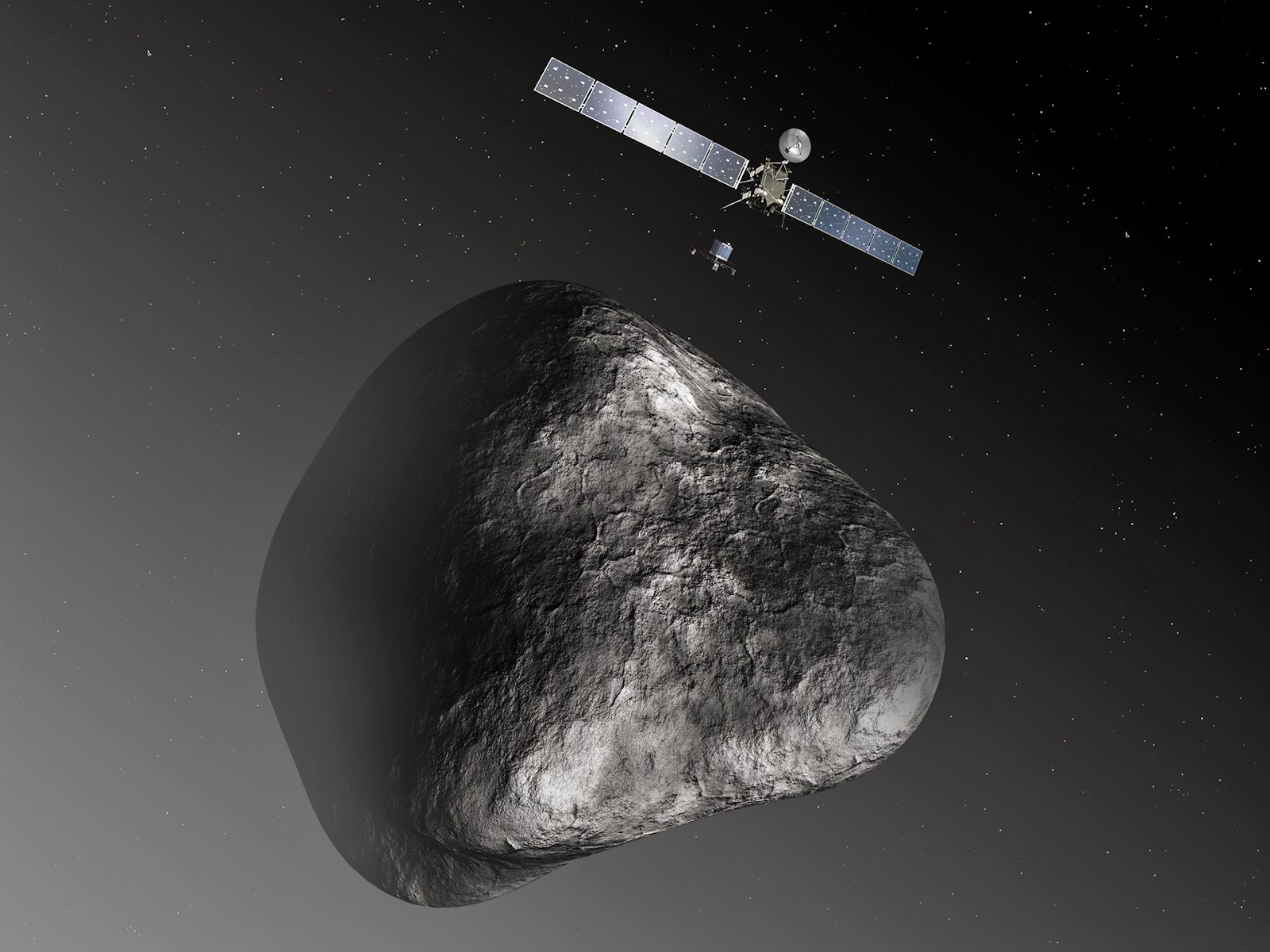 Stuff about Space: Esa's Comet Hunting Rosetta Probe Wakes Up