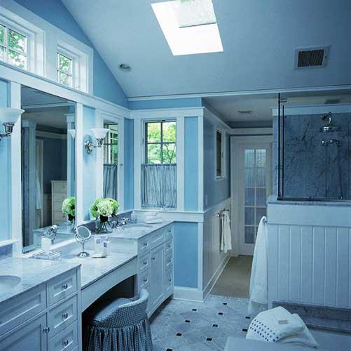 6200 Gambar Rumah Cat Warna Biru Terbaru