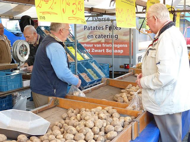 markt op vrijdag rotterdam