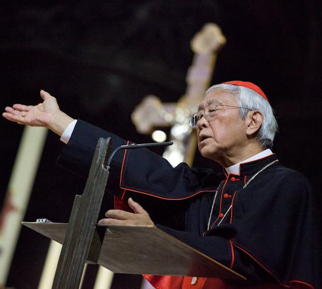 Cardeal Joseph Zen Ze-kiun, Arcebispo emérito de Hong-Kong