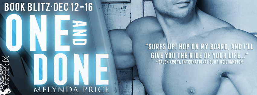 One and Done Book Blitz