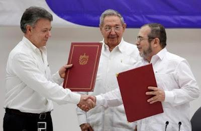 Colombia peace talk