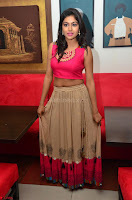 Akshita super cute Pink Choli at south indian thalis and filmy breakfast in Filmy Junction inaguration by Gopichand ~  Exclusive 066.JPG