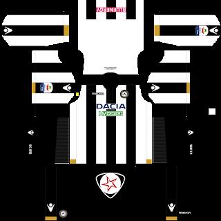 Udinese Calcio 2018 - 2019 Home Kit