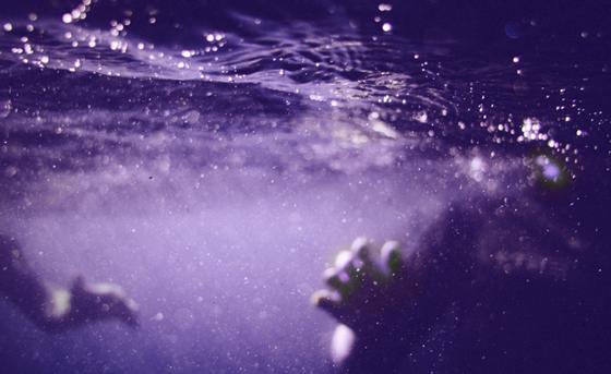 In the grip of the ocean