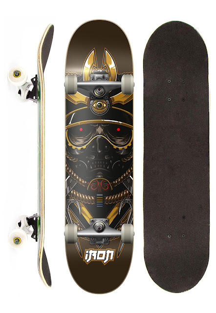 Loja Dafiti: Skate Completo Iron Profissional Samurai