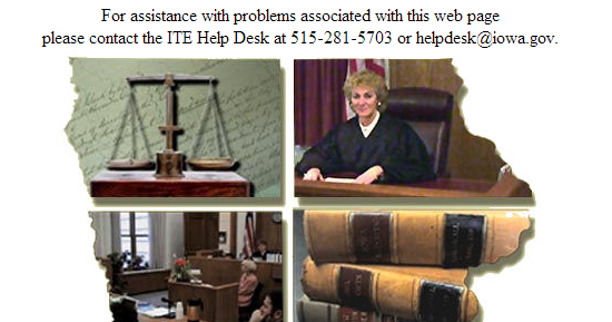 DACLAWBLOG : Iowa Courts Online: How do I—and others—check