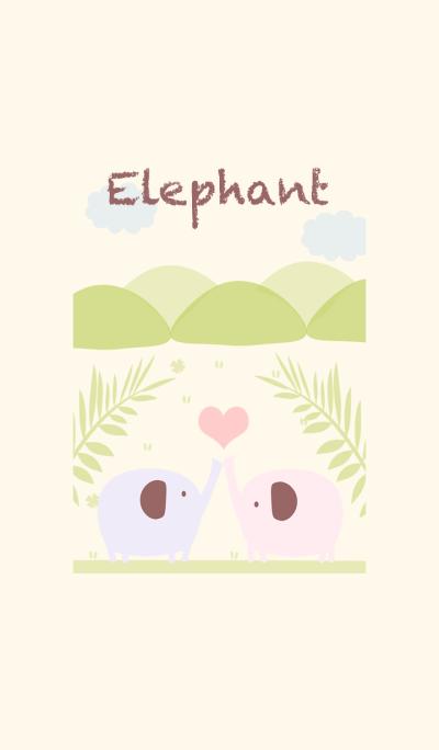 Happy Happy Elephant