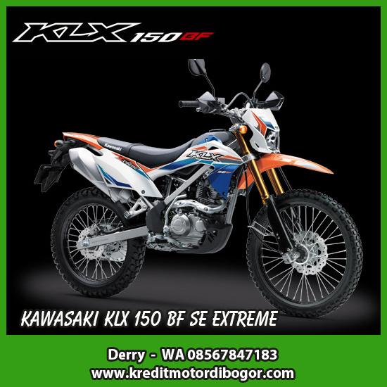 Kredit Motor Kawasaki KLX 150 BF SE Extreme di Bogor