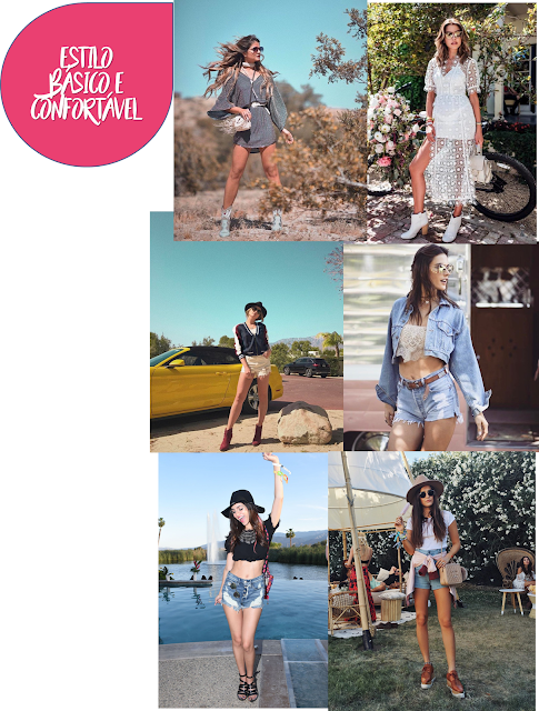 Coachella 2017- Estilo confortavel