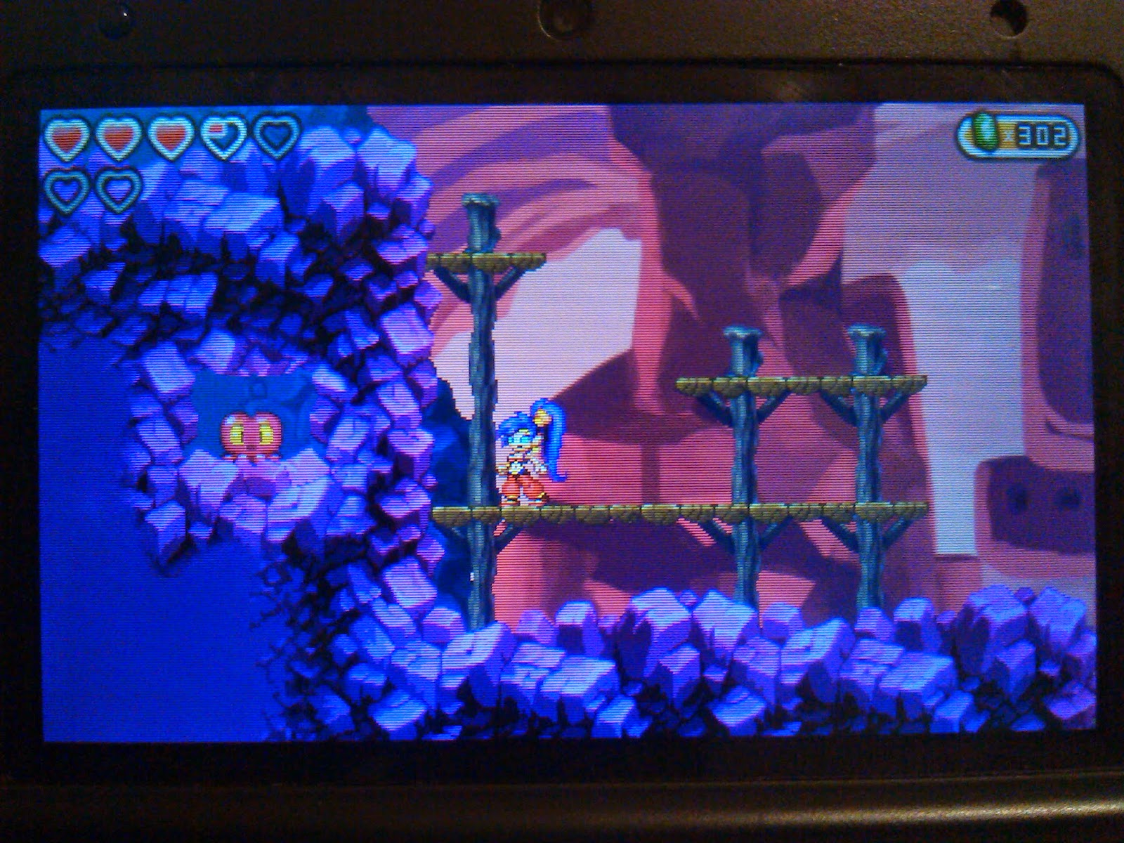 Shantae And The Pirate S Curse Mud Bog Island Squids Cacklebats