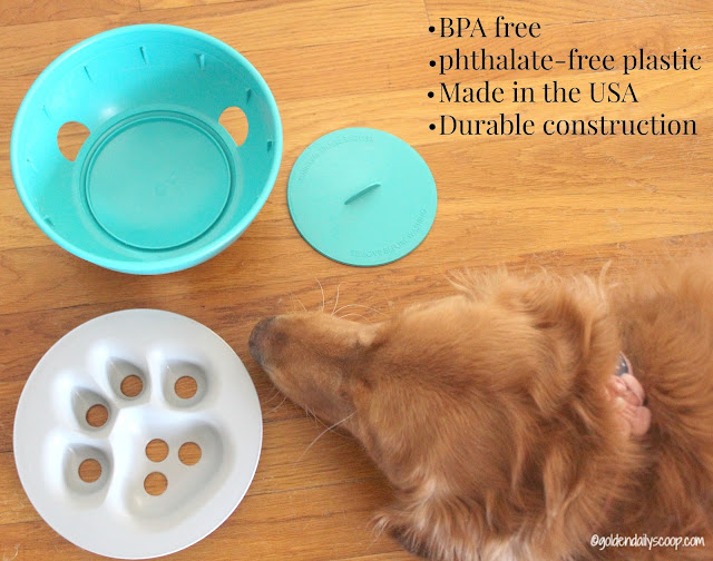 dishwasher safe dog bowl, puzzle bowl for dogs
