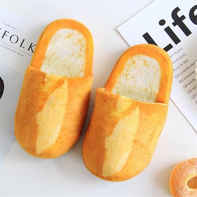 Bread Cotton Slippers
