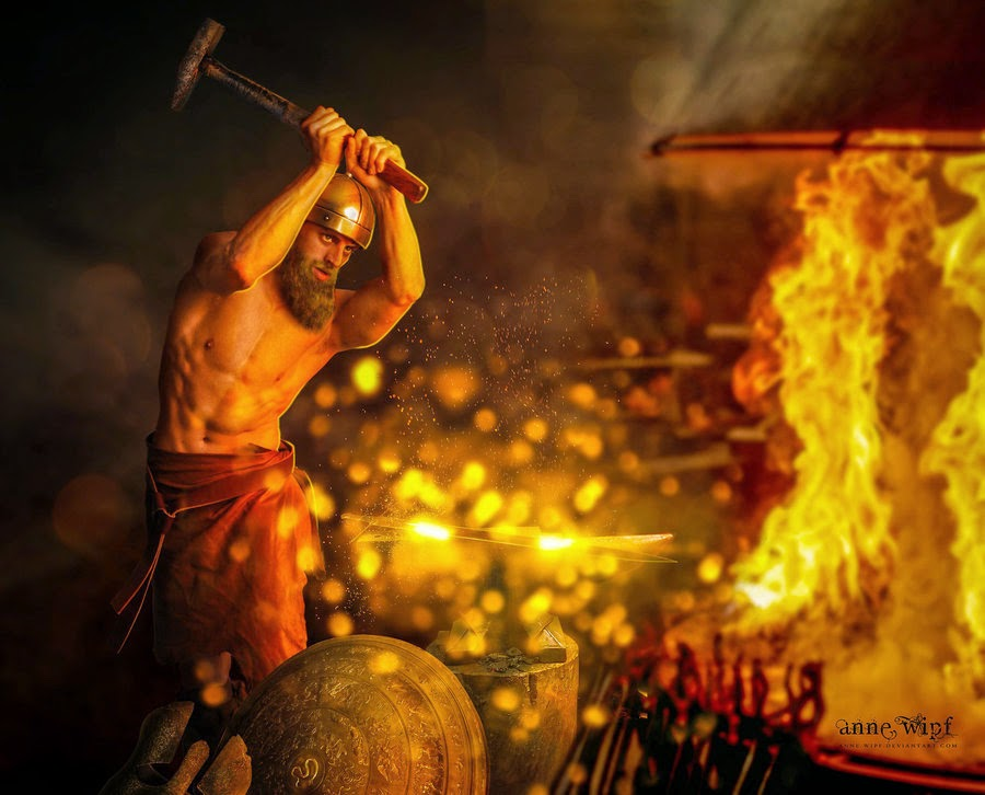 Hephaestus God Of Fire And Forge Man, Myth and Magic: A...