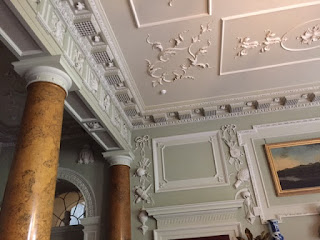 Castle Ward classical ceiling