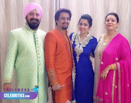 Charmi Kaur Family