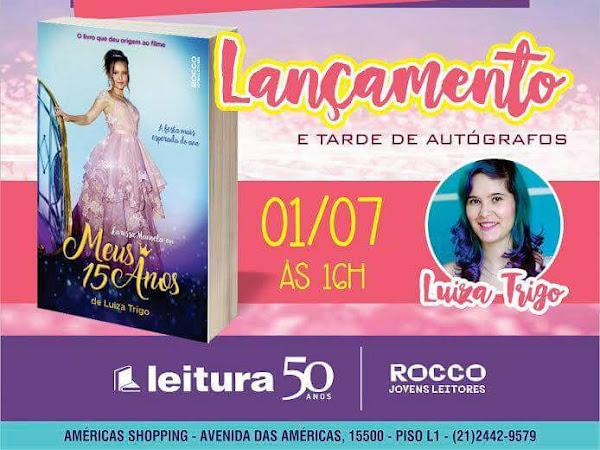 Tarde de Autógrafos com Luiza Trigo