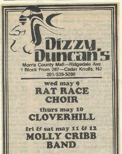 Dizzy Duncan's ad Cedar Knolls, New Jersey