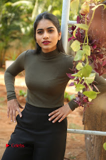 Tollywood Actress Punarnavi Bhupalam Latest Po Gallery in Black Trouser Pant at Pittagoda Movie Interview  0048.JPG