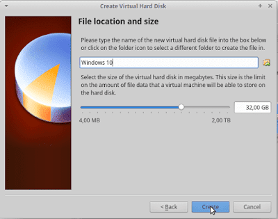8 - Cara Install Windows 10 Di Virtualbox