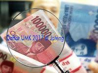 Ini Daftar UMK 2017 di 35 Kabupaten/Kota di Jateng