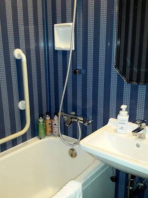 Bathtub in Hotel Monterey Grasmere Osaka Japan