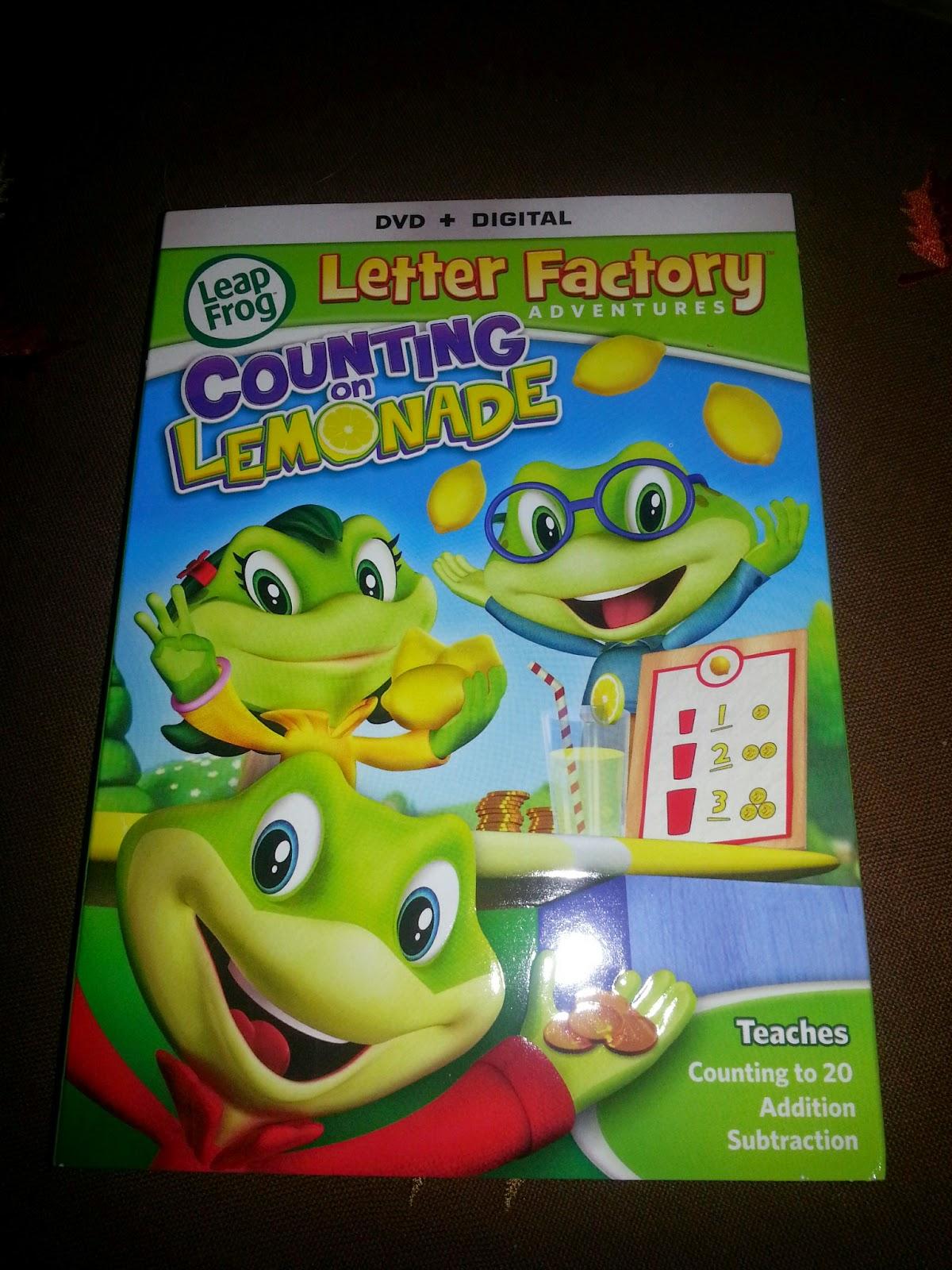leapfrog letter factory dvd leapfrog letter factory adventures counting on lemonade 22719