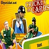 Play Cricket on cards game