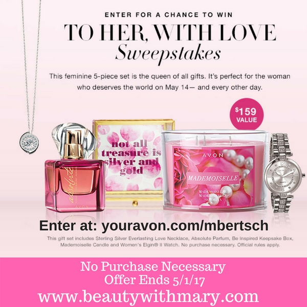 Avon Sweepstakes April 2017