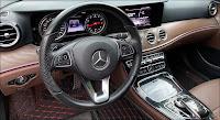 Mercedes E200 2017 đã qua sử dụng màu Đen