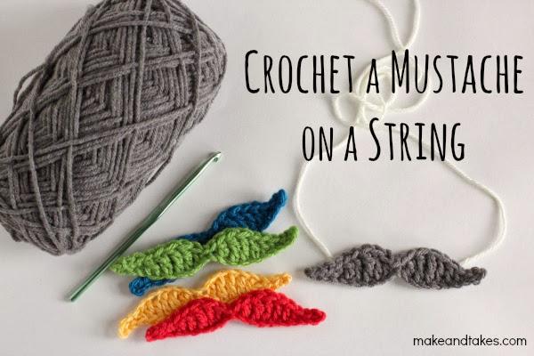 Como hacer Bigotes de Crochet Tutorial