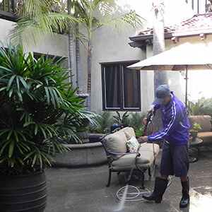 Professional Orange County pressure washing services by Stanley Cleaning Solutions.