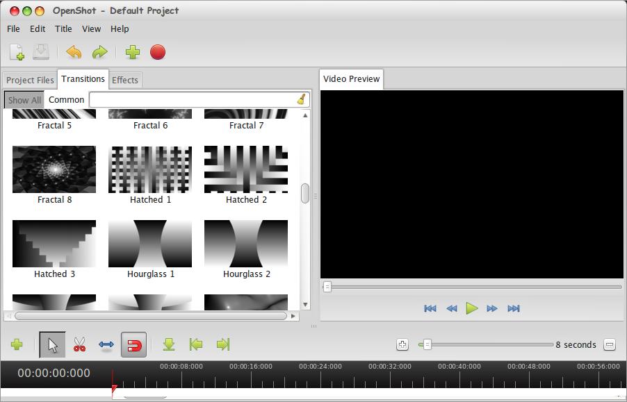 OpenShoot: Software Untuk Membuat dan Mengedit Video di Linux