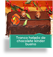 TRONCO HELADO DE CHOCOLATE KINDER BUENO
