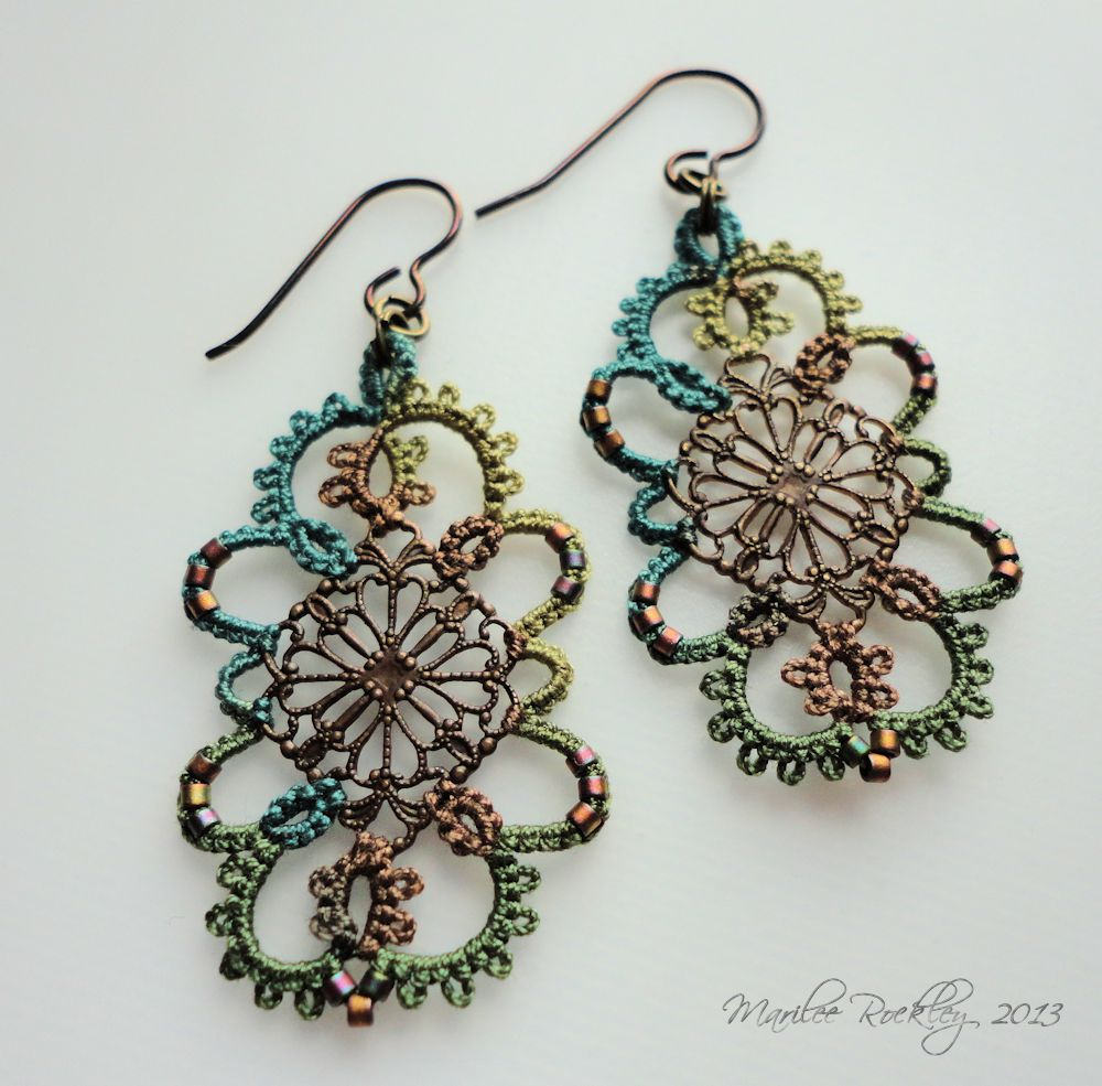 example by Marilee Rockley of the use of a filigree finding