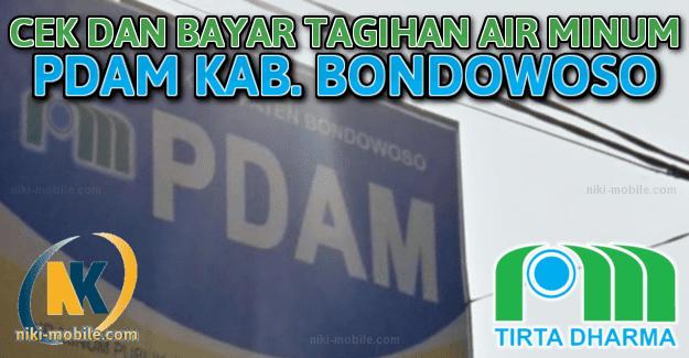 Niki Reload - Cara Cek dan Bayar Tagihan Air Minum PDAM Kabupaten Bondowoso Jawa Timur
